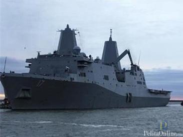 Angkatan Laut Amerika diperairan Tunggu Perintah Pengerang Suriah