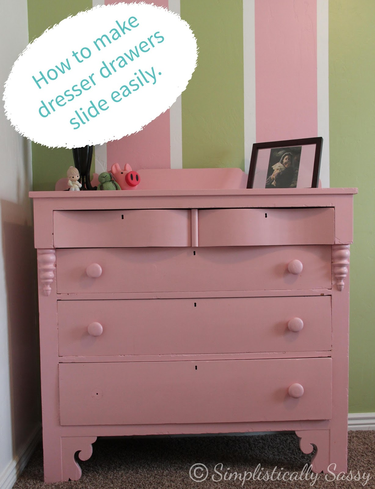How To Make Dresser Drawers Glide
