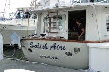 Salish Aire Transom Logo