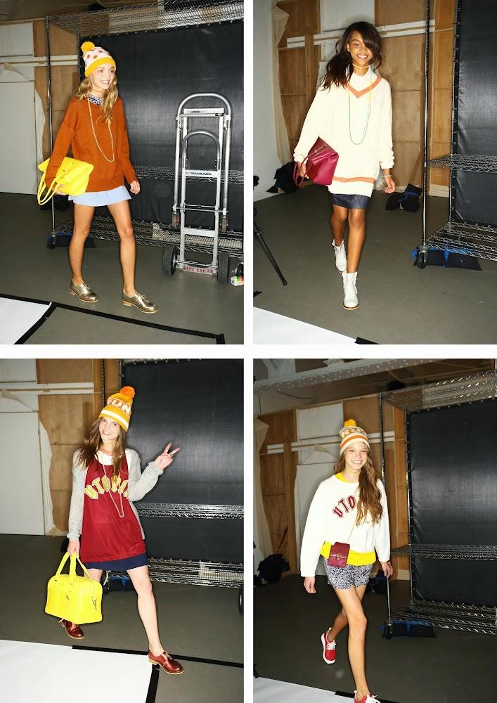 Karen Walker x Benah 2014 New York Runway Show Bag Collection