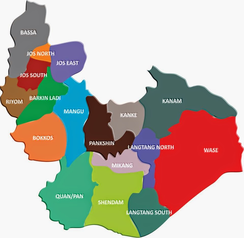 Plateau State Local Governments Areas