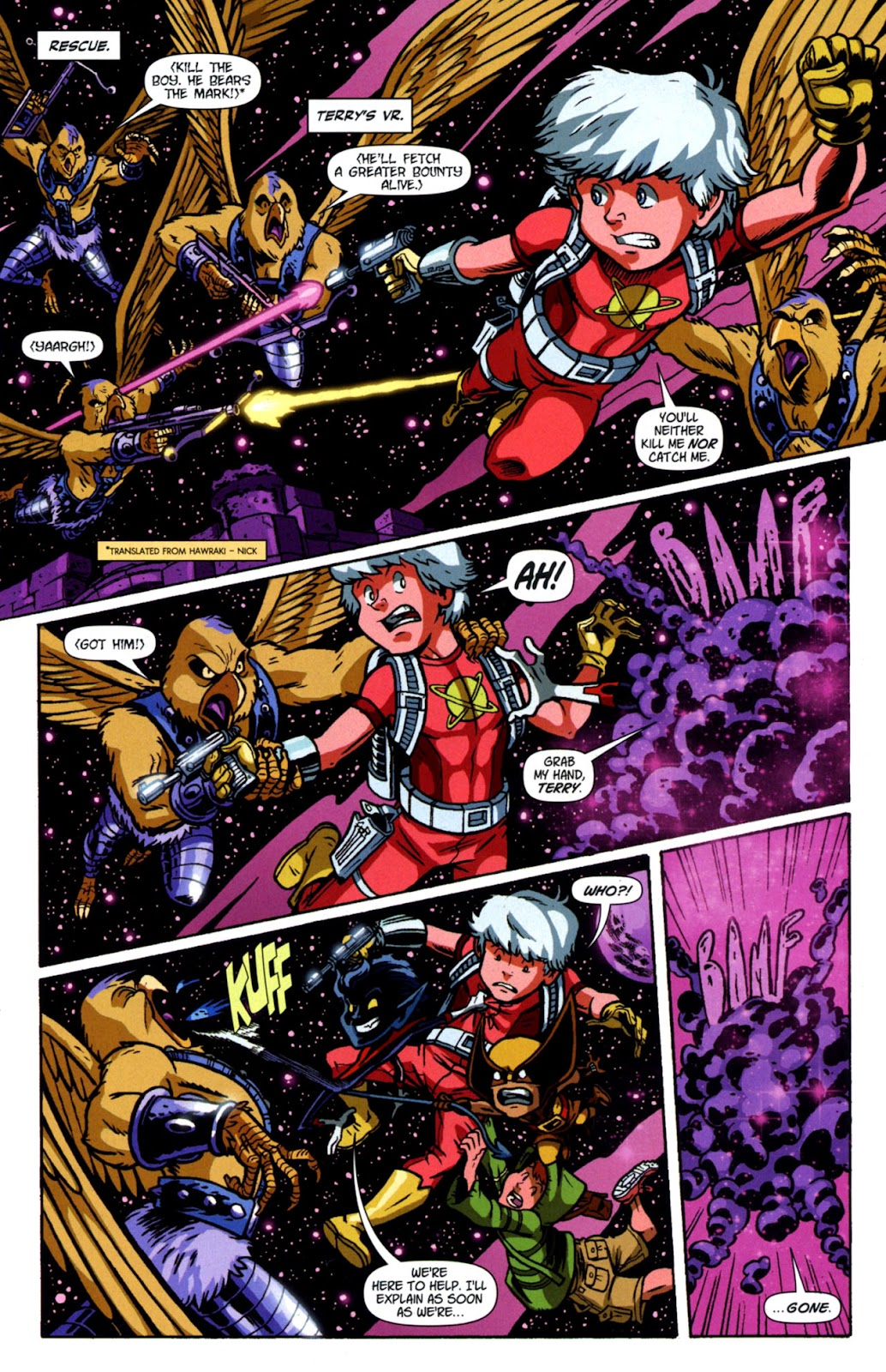 Read online X-Babies comic -  Issue #3 - 16