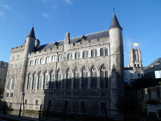Castle of Gerald the Devil aka Geeraard de Duivelsteen in Ghent, Belgium