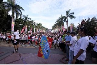 Fun Run Hits Without Violence  : Telkomsel Dukung Gerakan Anak Muda Anti Kekerasan