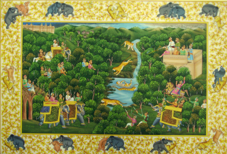 My Indian Culture: Indian Folk Art & Tribal Art Paintings Styles