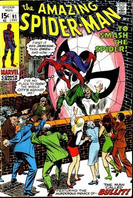 Amazing Spider-Man #91, Bullit