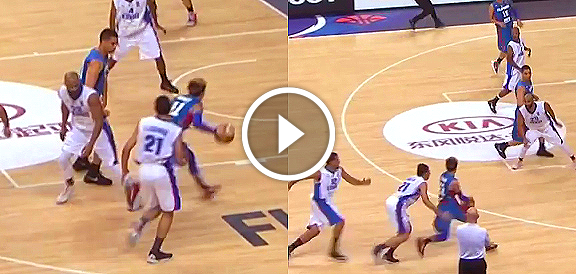 Terrence Romeo's KILLER Crossover Against Kuwait (VIDEO) Fiba Asia 2015