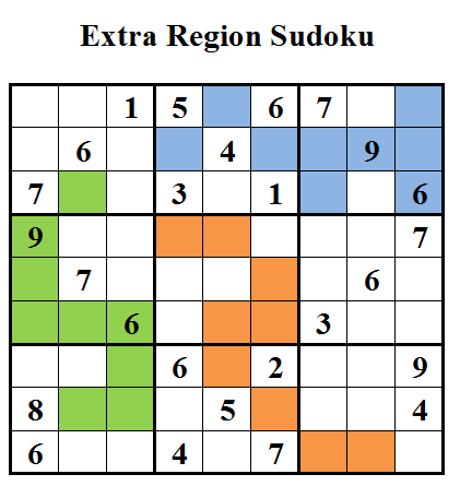 Extra Region Sudoku (Daily Sudoku League #26)