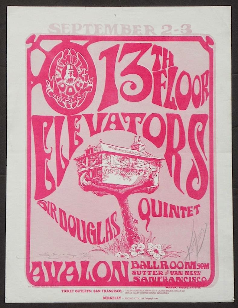 13th Floor Elevators Avalon
