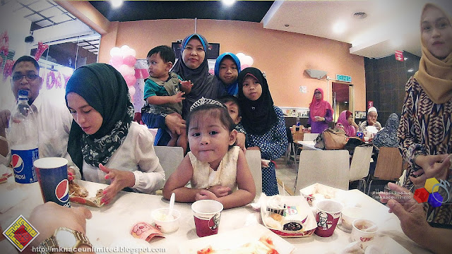 Hana Humaira Turn 3 Celebration @ KFC Taman Perling