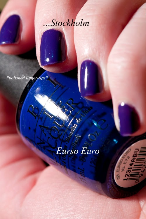 Comparison - Do You Have this Colour in Stock-holm and Eurso Euro by OPI