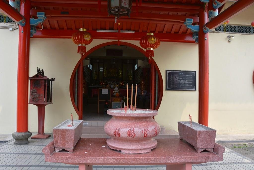 Chinatown Kuala Lumpur temple