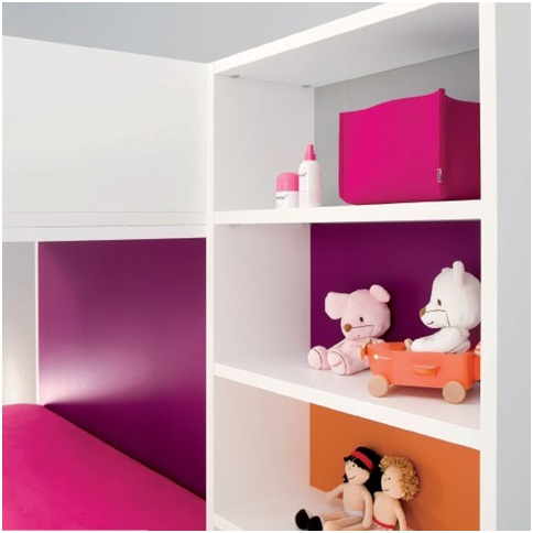 MINIMALIST BEDROOMS FOR CHILDREN MINIMALIST DORMS SHELVES