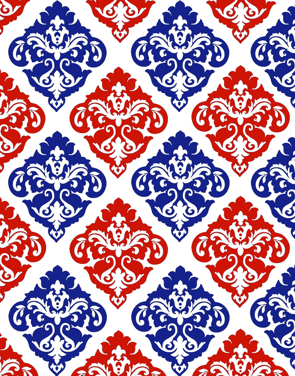 Red White And Blue Wallpaper