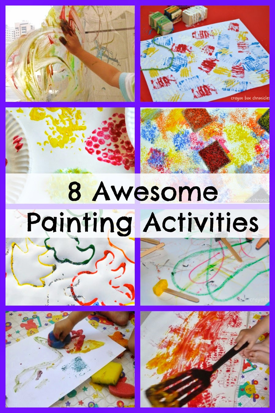 Eight Awesome Painting Activities