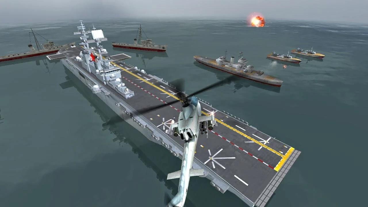 GUNSHIP BATTLE: Helicopter 3D v1.0.1 [Mod Money]