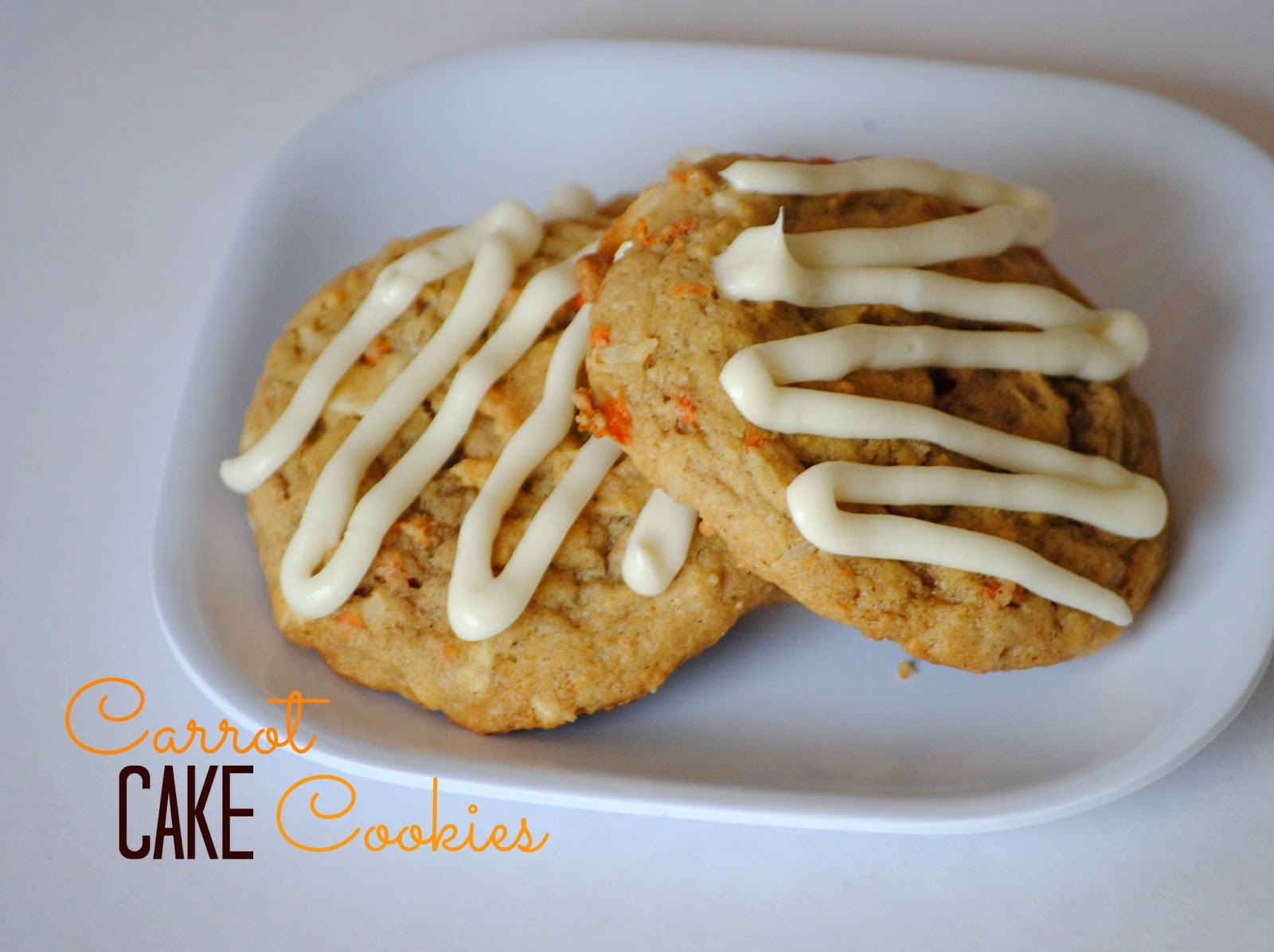 The Farm Girl Recipes: Carrot Cake Cookies