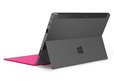 Tablet Surface (Microsoft) presentado en junio 2012  y previsto su lanzamiento en octubre 2012