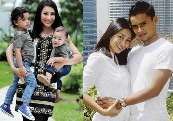 Keluarga Rita Rudaini dan Aidil Zafuan Bersama Anak