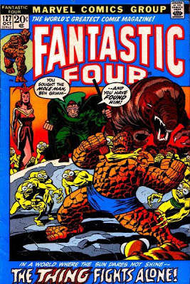 Fantastic Four #127, Mole Man and Kala