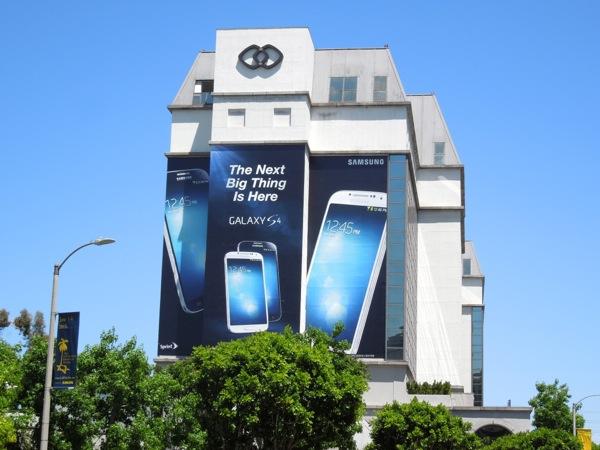 Samsung Galaxy S4 billboard