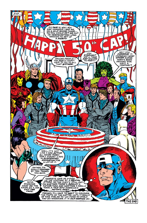 Captain America (1968) Issue #383 #316 - English 27