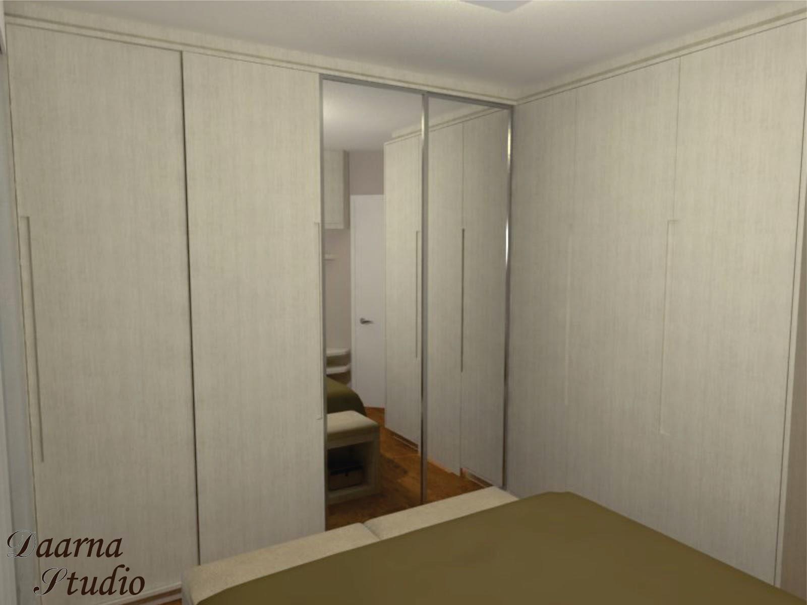 Daarna Arquitetura & Interiores: Imagens 3D Quarto #392918 1600x1201 Arquitetura E Banheiro