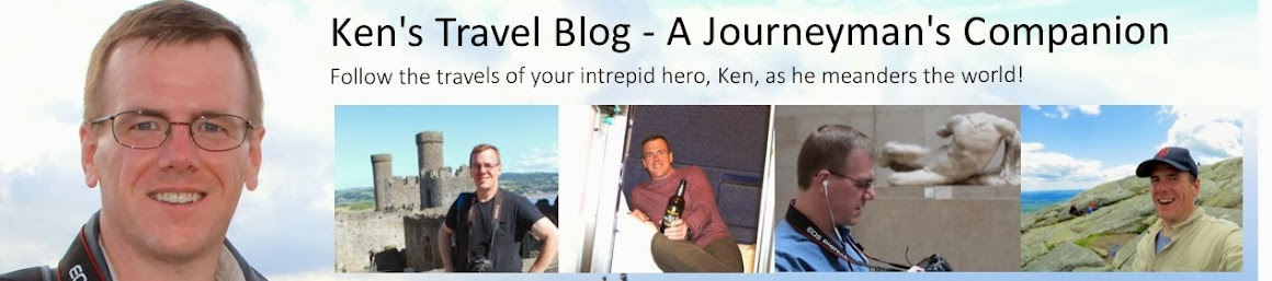 Ken's Travel Blog - A Journeyman's Companion