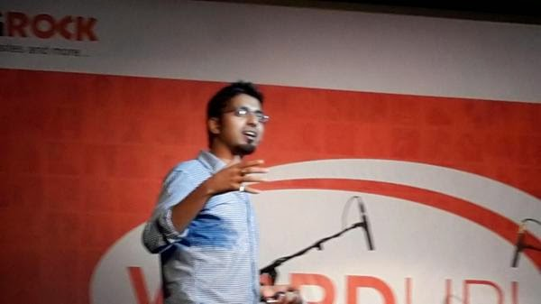 Harsh Agarwal SEO Guru at BigRock's WordUp Meet