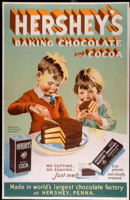 Vintage Chocolate Cake Ad Perfect Frosting Recipe Today Is My Mothers Birthday Happy