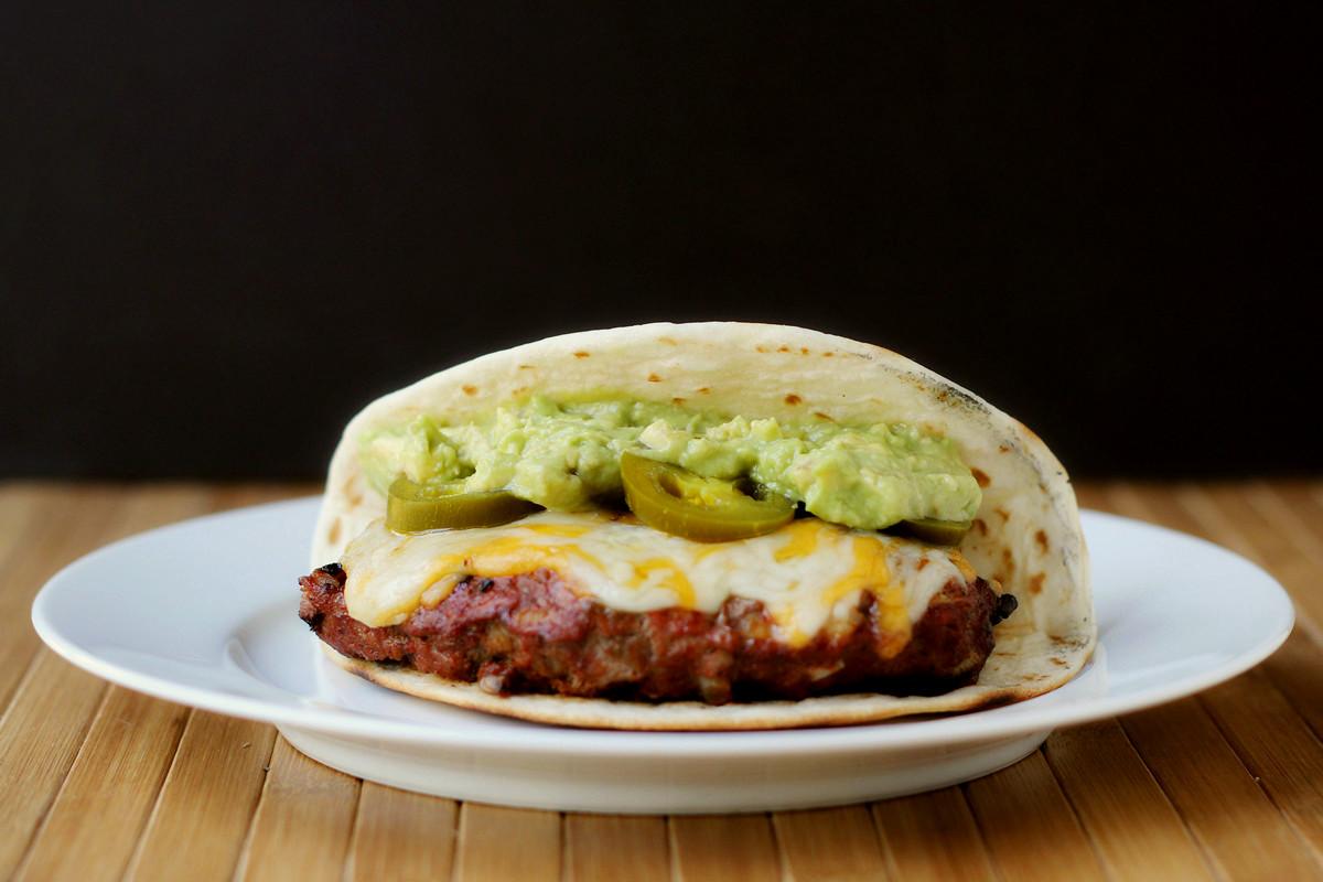 Cookistry: Half-Moon Taco Burgers