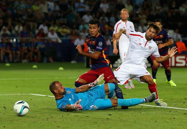 Brasileiro Rafinha, substituto de Neymar, marcou o terceiro do Barça (Foto: Chris Brunskill/Getty Images)