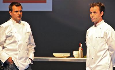 Mateu Casañes, Oriol Castro, Eduard Xatruch en Gastronomika 2012. Blog Esteban Capdevila