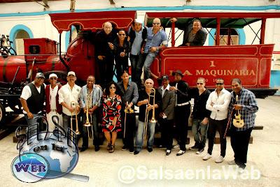 ► Los Van Van de Cuba Estarán en Salsa Al Parque 2013