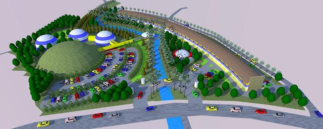 Site Plan Tempat Wisata