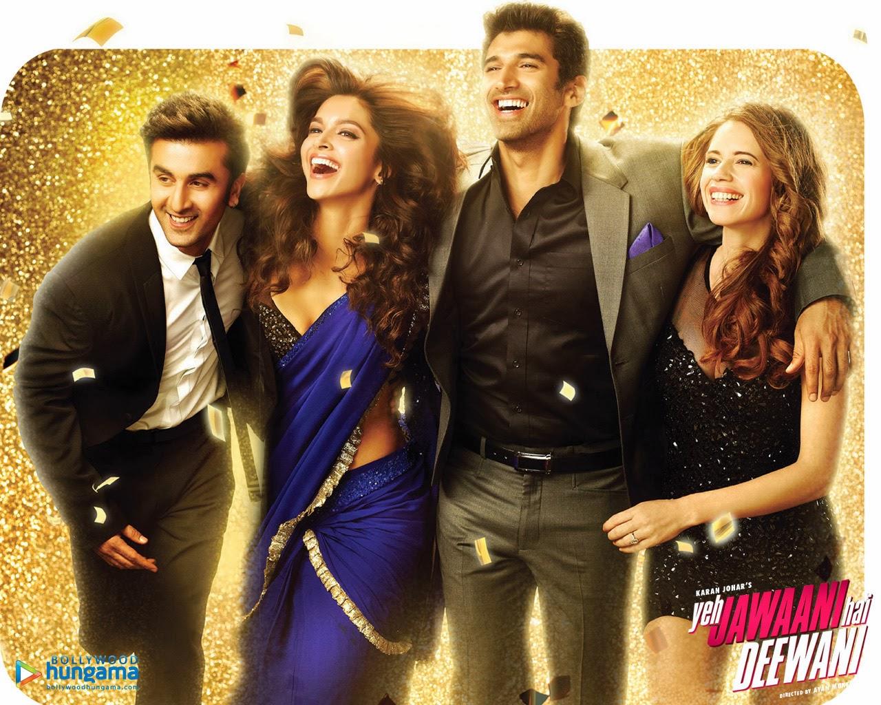 Celebritywallss Yeh Jawaani Hai Deewani Movie Wallpapers 2013