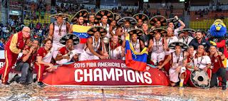 BALONCESTO - Venezuela sorprende a Ámerica entera para proclamarse campeona