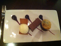 Pithivier of dark chocolate at The Social Cardiff