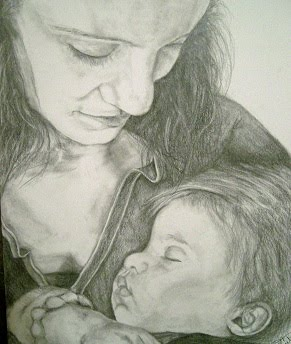 """No Other Love Like Mine"" mother and child portrait"
