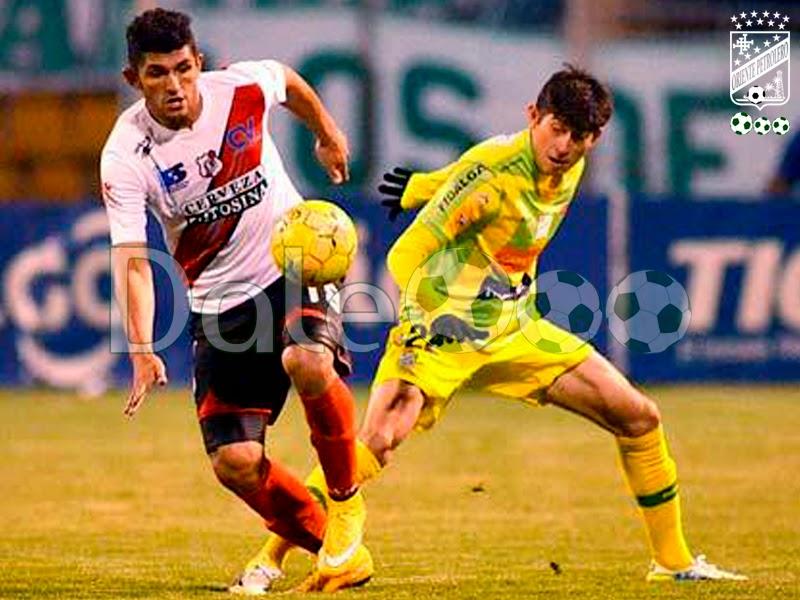Oriente Petrolero - Pedro Azogue - Nacional Potosí vs Oriente Petrolero - DaleOoo.com sitio del Club Oriente Petrolero