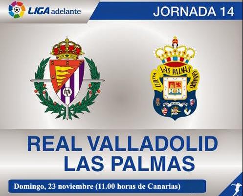 La UD Las Palmas nunca ha ganado en Valladolid