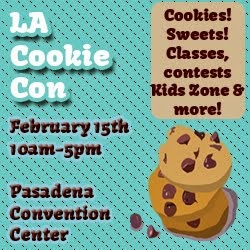 Proud Sponsor of LA Cookie Con 2015