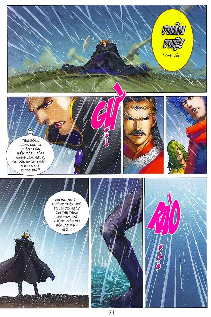 Tứ Đại Danh Bổ chap 371 – End Trang 21 - Mangak.info