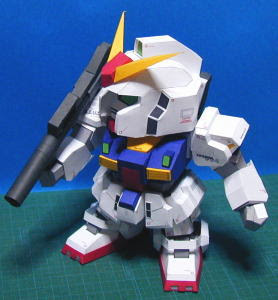 RX-178 Mk-II Gundam Papercraft Model