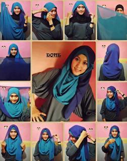 Tutorial Hijab Casual untuk Remaja Modis