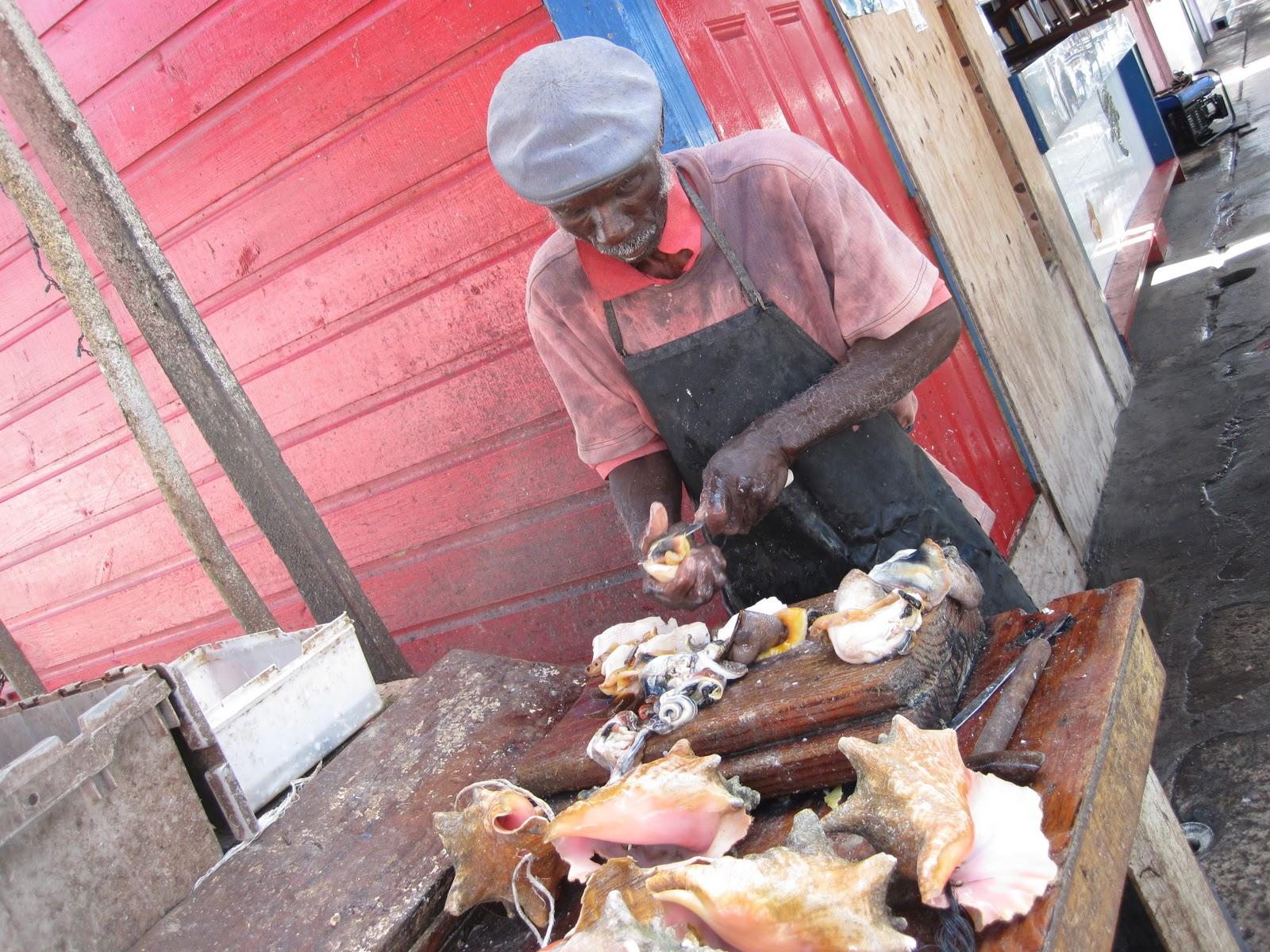 Plodding in paradise sights of nassau for Bahamas fish market