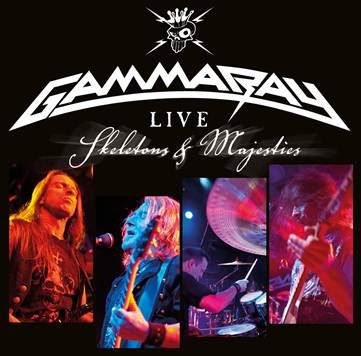 GAMMA RAY 'Skeletons & Majesties Live' nuevo DVD.