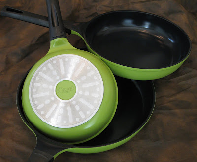 Ozeri, Ecozeri, Green Earth Pan, Frying Pans, non-stick