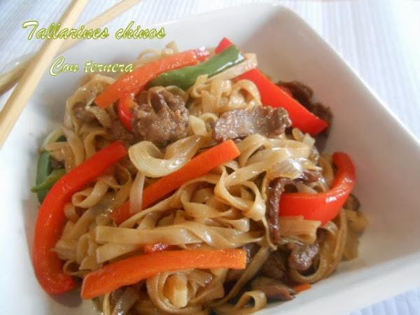 Tallarines chinos con ternera for Cocinar wok en casa