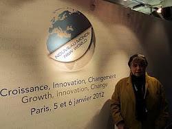 *Morgane BRAVO : Colloque Nouveau Monde à Paris. Bercy
